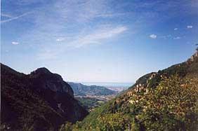 Panorama su Camaiore
